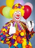 Beneveld de Dronken Clown Royalty-vrije Stock Fotografie