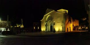 Benevento - överblick av Santa Sofia Royaltyfri Bild