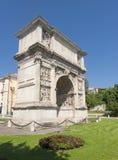 Benevento (Campania, Italië): Arco Di Traiano Stock Afbeelding