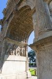 Benevento (Campania, Italia): Arco di Traiano Immagini Stock Libere da Diritti