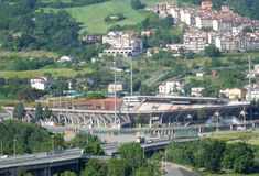 Benevento – Stadio Ciro Vigorito Royalty Free Stock Photography