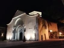 Benevento - chiesa di Santa Sofia immagini stock