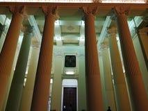 Benevento - colonnato della basilica della nostra signora di tolleranza immagine stock libera da diritti