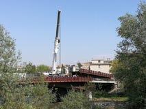 Benevento - Expansion der Brücke von Santa Maria-degli Angeli Lizenzfreie Stockfotografie