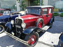 Benevento - Fiat 515 av 1931 Arkivfoto