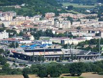 Benevento - Football Stadium Royalty Free Stock Photo