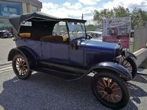 Benevento - Ford T of 1919 stock photo