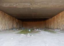Benevento - oavslutat galleri Arkivfoton