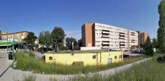 Benevento - Overzicht van het Burgerlijke Ziekenhuis royalty-vrije stock afbeeldingen