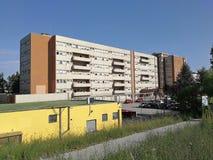 Benevento - San Pio Pavilion van het Burgerlijke Ziekenhuis stock foto