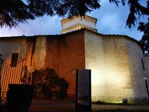 Benevento - Side View of the Church of Santa Sofia Stock Photos