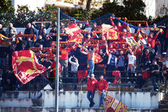 Benevento supporters Stock Photography