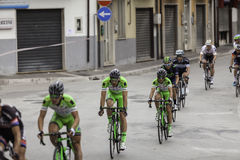 Benevento, 17th may 2015  - giro d'italia 2015 bicycle race Royalty Free Stock Images