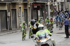 Benevento, 17th may 2015  - giro d'italia 2015 bicycle race Stock Photos
