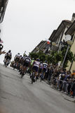 Benevento, 17th may 2015  - giro d'italia 2015 bicycle race Royalty Free Stock Photo