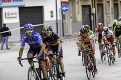 Benevento, 17th may 2015  - giro d'italia 2015 bicycle race Stock Image