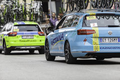 Benevento, 17th may 2015  - giro d'italia 2015 cyclist on bike race Royalty Free Stock Photography