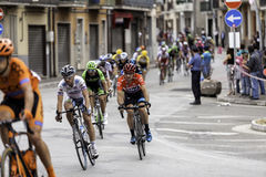Benevento, 17th may 2015  - giro d'italia 2015 cyclist on bike race Stock Photography