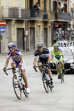 Benevento, 17th may 2015  - giro d'italia 2015 cyclist on bike race Stock Photos