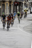 Benevento, 17th may 2015  - giro d'italia 2015 group Royalty Free Stock Photo