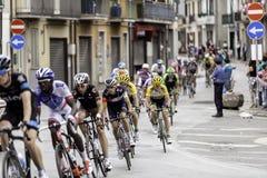 Benevento, 17th may 2015  - giro d'italia 2015 group Royalty Free Stock Photos