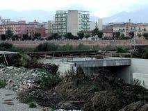 Benevento - väggångtunnelarbete Fotografering för Bildbyråer