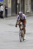 Benevento, zeventiende kan 2015 - de fietser van girod'italia 2015 Royalty-vrije Stock Afbeeldingen