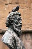 Benevenuto Cellini e pombo imagem de stock