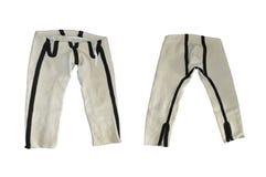 Benevrek - calças de lã tradicional isolada no fundo branco fotos de stock royalty free