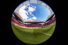 Benfica stadium in Lisbon, Portugal. Stock Photos