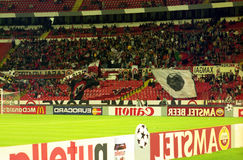 Benfica supporters Royalty Free Stock Photography