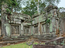 Beng Mealea. Scenery around Beng Mealea, a Khmer temple in Cambodia Royalty Free Stock Photos