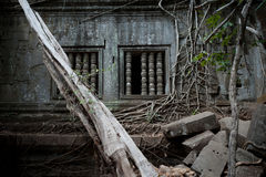 Beng Mealea Temple in Angkor Stock Photography