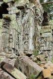 Beng Mealea Temple, Angkor, Cambodge images libres de droits