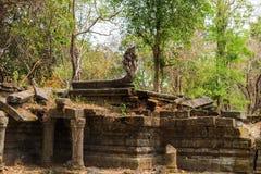Beng Mealea Temple, Angkor, Cambodia Stock Photography