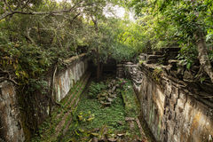Beng Mealea temple jungle in Cambodia Royalty Free Stock Photography