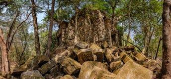 Beng Melea, Angkor, Καμπότζη Στοκ φωτογραφία με δικαίωμα ελεύθερης χρήσης