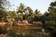 Bengaals dorp royalty-vrije stock foto