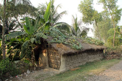 Bengaals dorp royalty-vrije stock fotografie