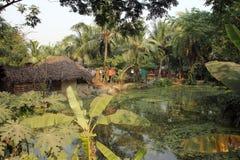 Bengaals dorp stock foto