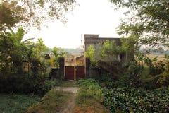 Bengaals dorp stock afbeelding