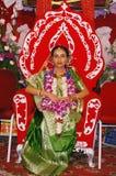 Bengaalse huwelijksRituelen in India Stock Fotografie