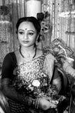 Bengaalse vrouw Stock Foto