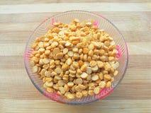 Bengal gram in bowl Royalty Free Stock Photo