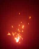 Bengala de la Navidad en neblina Foto de archivo
