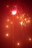 Bengala de la Navidad en neblina Imagen de archivo