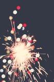 Bengala del día de fiesta Imagen de archivo libre de regalías
