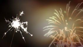 Bengala - ` s Eve/celebración del Año Nuevo/del Año Nuevo Imágenes de archivo libres de regalías