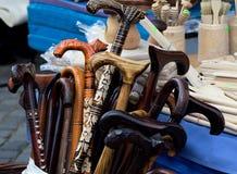Bengalas de madeira Imagem de Stock