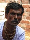 Bengalczyka mężczyzna portret Zdjęcia Royalty Free
